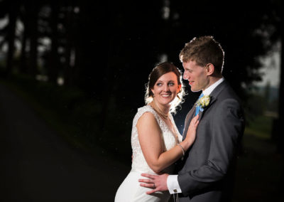 Nighttime Wedding Photographer Birmingham Philip James Photography