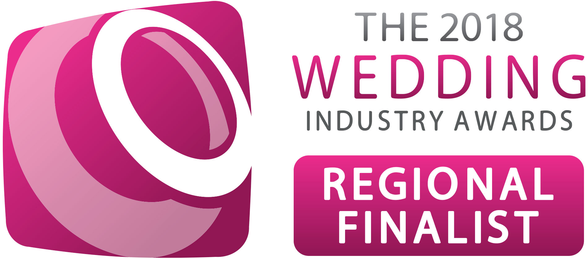 Wedding Industry Awards Regional Finalist 2017