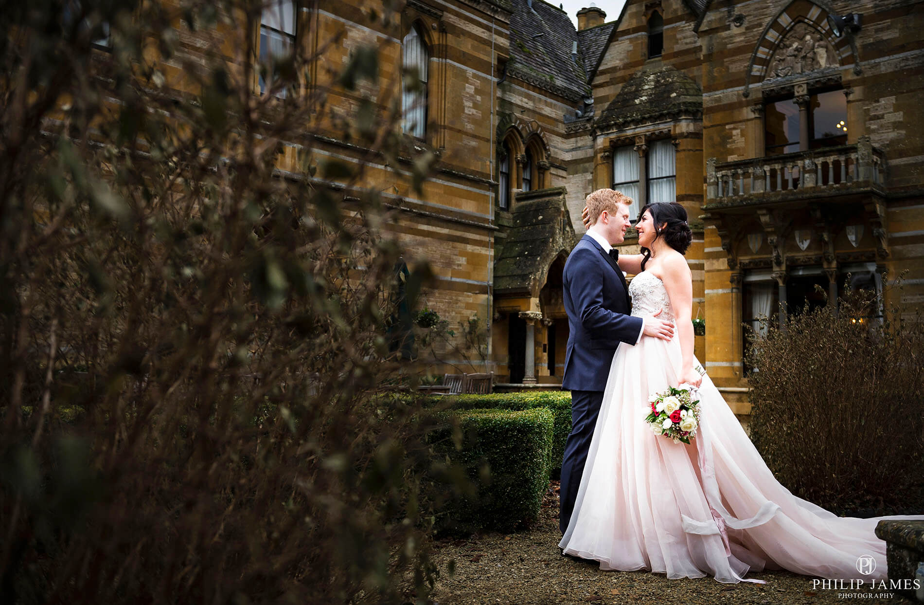 Ettington Park Hotel - Wedding Photographer Birmingham - Philip James, covering Solihull, The West Midlands, the UK & overseas - Mahsa & Anthony