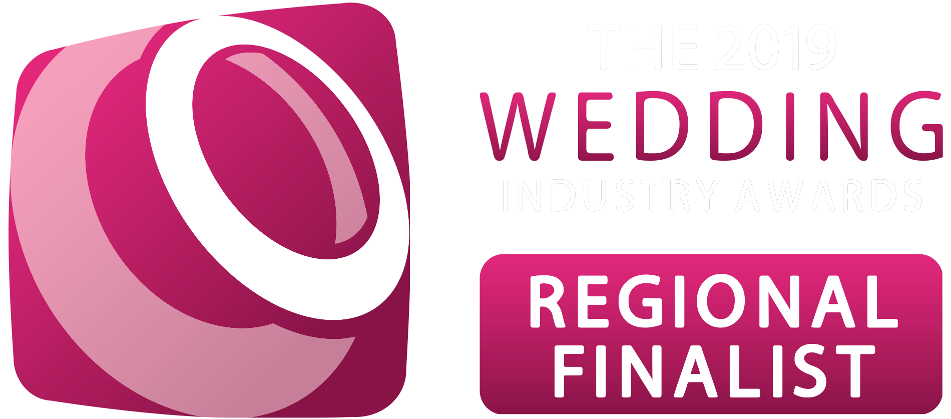 The 2019 Wedidng Industry Awards Regional Finalist - Philip James Photography Wedding Photographer Birmingham